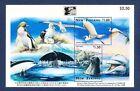 NEW ZEALAND    SC 1370A   FVF MNH S/S   SEAL WHALE BIRD FISH   1996