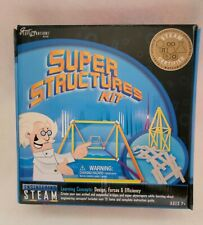 Great Explorations STEAM Learning System  Engineering: Super Structures Kit NEW!