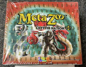 MetaZoo Cryptid Nation 1st Edition Booster Box Factory Sealed In Hand - See Pics