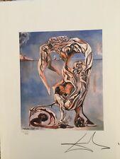 Salvador Dali Litografía 50 x 65 Bfk Rives Sello seco Firmada a lápiz D2016