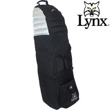 LYNX GOLF TRAVEL COVER / DELUXE XL WHEELED GOLF FLIGHT BAG @ 40% OFF RRP !!!!