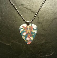 Dragon Fantasy Monster Guitar Pick Chain Necklace Pendant Charm Gift Present
