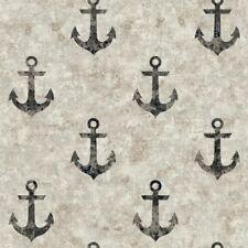 York Wallcoverings NY4914 Nautical Living Anchor Away Wallpaper,  FREE SHIPPING