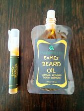 E=MC2 BEARD OIL -SIMPLICITY RULES:100% PURE COLD PRESSED OILS 30ML FREE DELIVERY