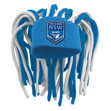 NEW 2017 State of Origin NSW New South Wales Dreadlock Hat Cap Beanie Game Day