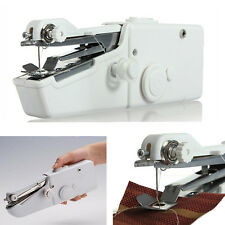 Mini Portable Handheld Sewing Machine hand held Stitch Home Clothes Cordless