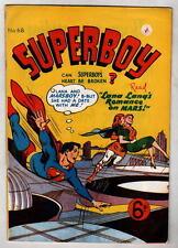 Australian SUPERBOY 68 DC Comics 1950's UK