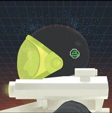 "Original LEGO Art Blacktron II visor down 8""x8"" print"