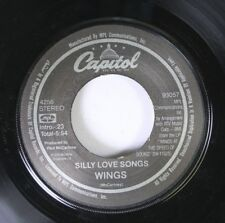 Rock 45 Wings - Silly Love Songs / Cook Of The House On Capital