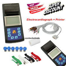 Single Channel 12 Leads EKG/ECG System Electrocardiograph,Printer CE FDA NEW