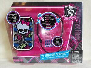 Monster High Creepy Cool Microphone. BNIB. GREAT FUN ACTIVITY, FINAL GROOVY SET!