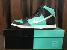 """NIKE DUNK HIGH PREMIUM SB - """"TIF FANY S""""- SIZE 11 - RARE, LIMITED,TRUSTED SELLER"""
