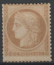 "FRANCE STAMP TIMBRE N° 36 a "" CERES  10c BISTRE-BRUN  1870 "" NEUF xx TB  N460"
