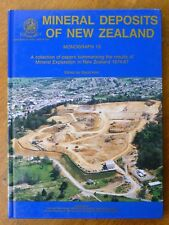 Mineral Deposits of New Zealand Monograph 13 - David Kear ed. (Hardback, 1989)