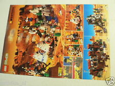 LEGO BROCHURE FLYER CATALOG TOYS 1997 WESTERN DUTCH 2 PAGES 036