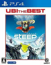 Ubisoft Steep Ubi The Best Edition  SONY PS4 PLAYSTATION 4 JAPANESE Version