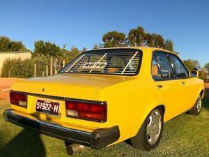 Holden 1983 TF Gemini Sedan  Boot  LIP SPOILER - MATTE BLACK