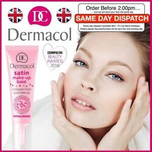 DERMACOL Satin Make-up Base Face Smoothing Foundation Primer Genuine 10ml UK