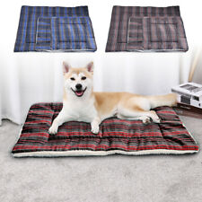 Washable Big Bed for Small to Large Dog Cat Plaid Sleep Sofa Mat Couch Pet House