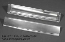 Ford Short Door Sedan and Coupe / 5W Door Bottom Kit Right 1935-1936 #117R EMS
