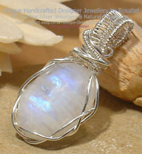 Handmade Moonstone Oval Fine Necklaces & Pendants