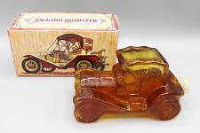 Vintage Collectible Avon Packard Roadster Oland Cologne Bottle 6 Oz. Full Amber