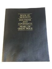The Book of Mormon Doctrine and Covenants Pearl of Great Price Paperback 2013