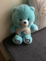 BLUE BEDTIME CARE BEAR 2003 14 INS EXC CON