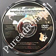 07 08 2009 10 2011 ACADIA CADILLAC ESCALADE NAVIGATION NAV MAP DISC CD DVD 11.3