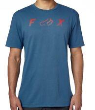 NWT MENS FOX RACING AVENGED BLUE STEEL S/S PREMIUM T-SHIRT TEE L LARGE NEW