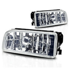 92-98 BMW 3 Series E36/M3 Fog Lights Pair Set - Clear Lens w/Bulbs