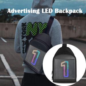 Advertising LED Backpack WiFi Version APP Control  LED Display  Shoulder Bag