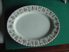 "Royal Albert Bone China ""Winsome"" 12 3/4 inch Oval Platter, England"