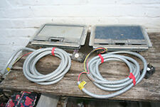 2 x Metal Floor mounted electric and coms service boxes Arena-Walsall