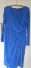 ALEXON BLUE FULLY LINED DRESS, Size 14, EXCELLENT CONDITION