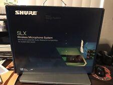 New!  Shure SLX124/85/SM58 Dual System Band G4
