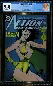 ACTION COMICS 639 CGC 9.4 PHANTOM LADY SPEEDY HERO HOTLINE DC