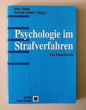 Psychologie im Strafverfahren von Max Steller, Renate Volbert