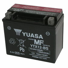 Batteria Yuasa ORIGINALE YTX12-BS Piaggio Vespa GTS 300 Super 2008/2009