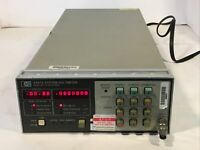 HP AGILENT 3437A SYSTEM VOLTMETER UNTESTED/PARTS/AS-IS/POWERS ON