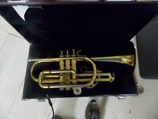 YAMAHA YCR2310 BRASS TRUMPET WITH HARD CASE NO RESERVE MUSICAL INSTRUMENT