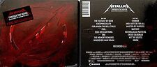 "METALLICA *NEW (SLIGHT 1"" CUT ON BACK)* 2013 US 2CD OST CONCERT ""THRU THE NEVER"""