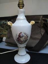 Ancien Pied de Lampe Céramique