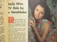 1970 Wash. Evening Star TV Mag(EMILY BANKS/ROOM 222/KAREN VALENTINE/LLOYD HAYNES