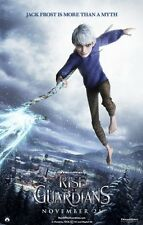 POSTER LOCANDINA LE 5 LEGGENDE RISE OF THE GUARDIANS BABBO NATALE JACK FROST #10