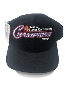 VTG NBA Eastern Conference Champion 1999 New York Knicks Snapback Hat New Tags