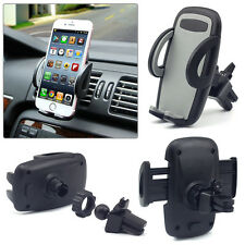 Universal Rotating Car Air Vent Mount Stand Holder For Most Smart Cell Phone GPS