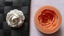 Silikonform Rose / Tortendekoration / Hobby / Basteln / Blume / Seifengießform