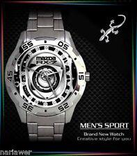 New Mazda RX7 Rotary Engine Mens Watch Sport Metal Watch