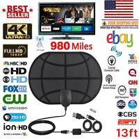 980Mile Range Antenna TV Digital HD Skywire 4K Antena Digital Indoor HDTV 1080p~